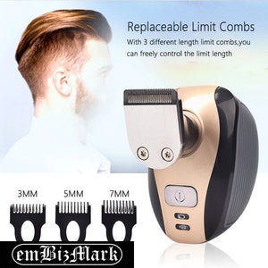 5 In 1 4D Men's Rechargeable Bald Head Electric Shaver 5 Floating Heads Beard Trimmer Razor Clipper Facial Brush