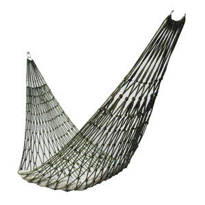 Portable Outdoor Sport Hammock, Outdoor Camping Hammock Mesh Net for Garden Beach Yard Travel Garden Swing Hanging Bed