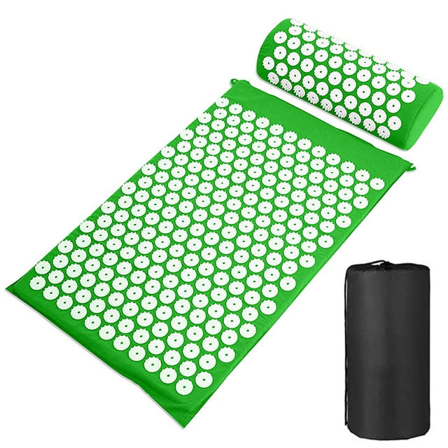 Yoga Massage Mat Acupressure Mat Acupuncture Mat Pillow Set Kuznetsov applicator Eco Pranamat