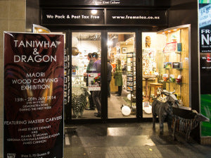 Taniwha & Dragon Exhibition