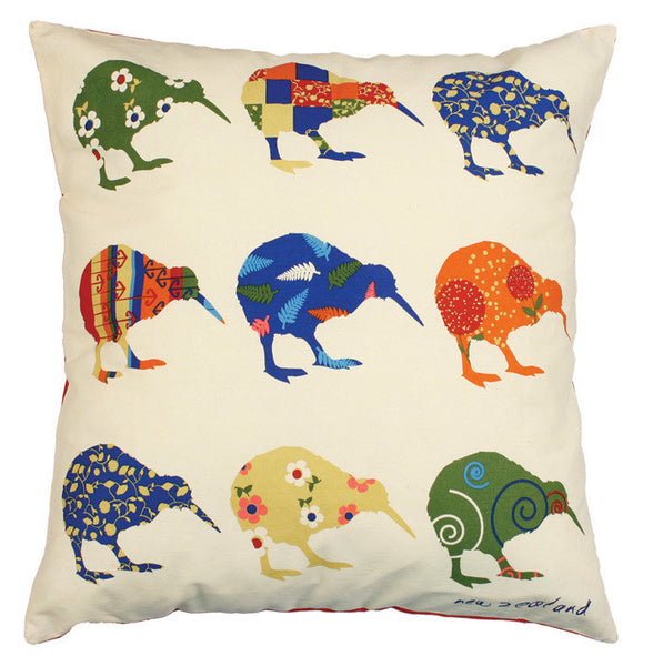 Kiwi Applique Cushion Covers
