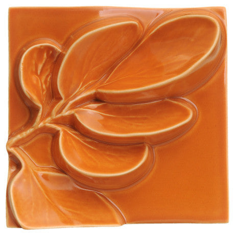 Wall Square Broadleaf - Orange