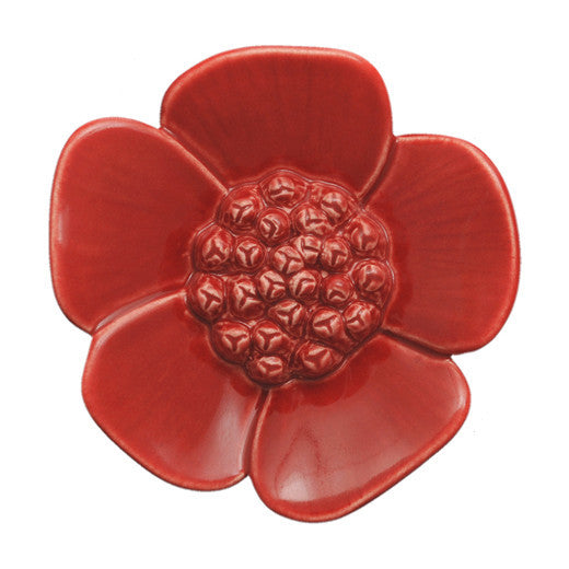 Ribbonwood Wall Flower - Small - Red