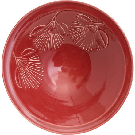 Bowl - Puhutukawa - Red - Extra Large