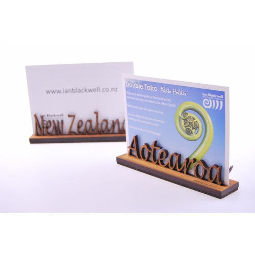 Double Take Photo Holder - New Zealand/Aotearoa