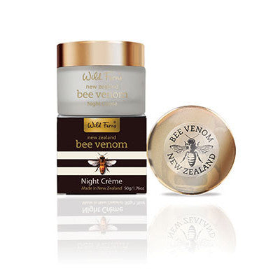 Bee Venom Night Creme with Active Manuka Honey