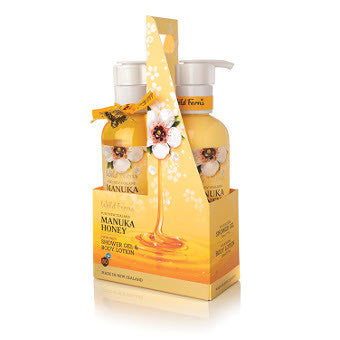 Manuka Honey Shower Gel & Body lotion