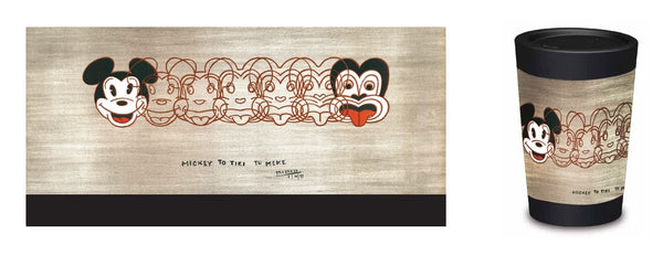 Cuppacoffeecup Mickey to Tiki Designed By Dick Frizzell