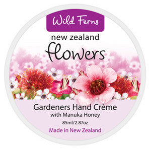 New Zealand Flowers Gardners Hand Creme with Manuka Honey