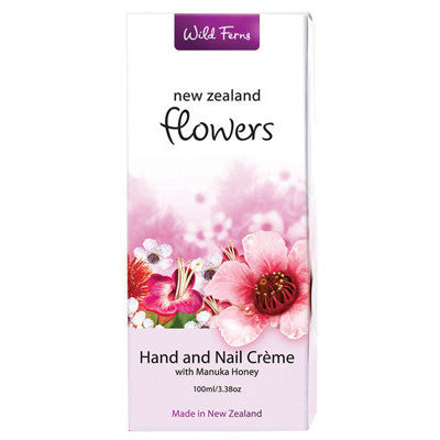 New Zealand Flowers Hand & Nail Creme
