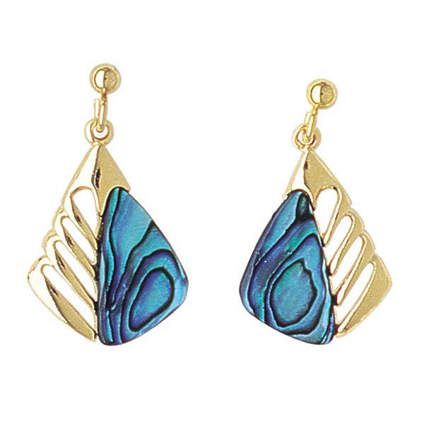 Paua Shell Earrings - PE200