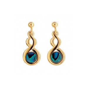 Paua Shell Earrings - PE225