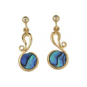 Paua Shell Earrings - PE251