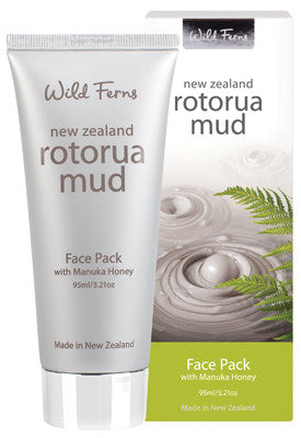 Rotorua Mud Face Pack with Manuka Honey