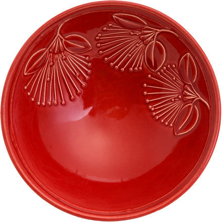 Bowl - Puhutukawa - Red - Large