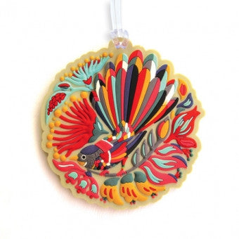 Gift/Luggage Tag 'Colorful Fantail'