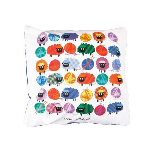Woolly Brights Cushion Cover