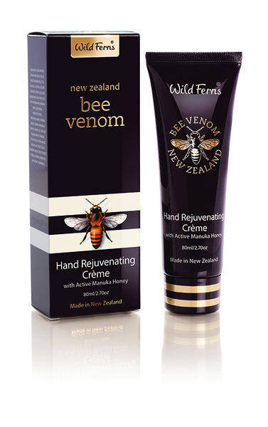 Bee Venom Hand Rejuvenating Creme with Active Manuka Honey