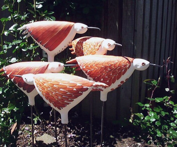 Ceramic Weka Bird