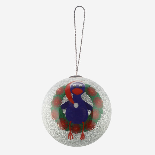 Pukeko Wreath - Christmas Decoration
