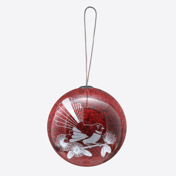 Ruby Fantail - Christmas Decoration