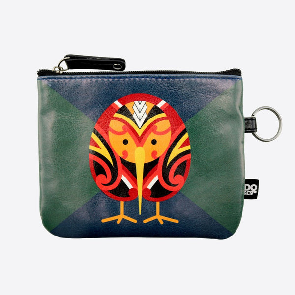 Tribal Kiwi - Coin Purse