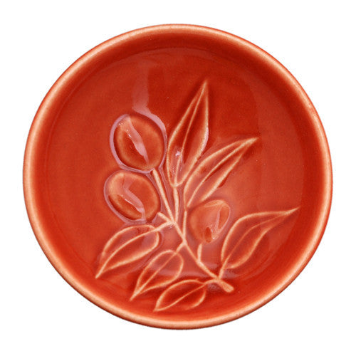 Dipping Bowl - Olive Branch - Orange