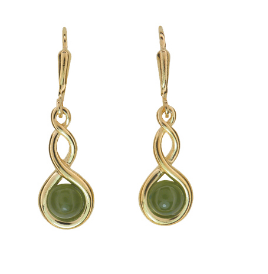 Greenstone earrings - JE225