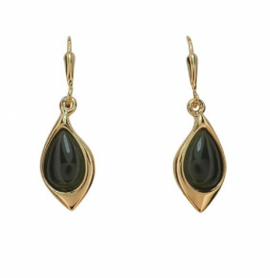 Greenstone earrings - JE488