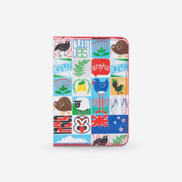 Kiwiana Tiles - Passport Holder