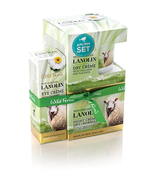 Lanolin AM/PM Set