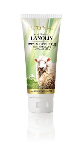 Lanolin Foot and Heel Balm with Manuka Oil and Aloe Vera