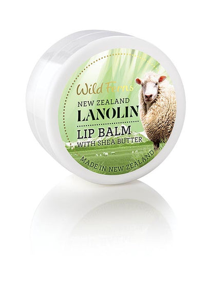 Lanolin Lip Balm with Shea Butter