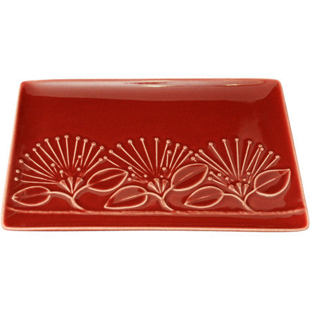 Pohutukawa Platter Red Medium