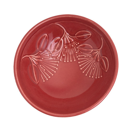 Bowl - Puhutukawa - Red - Medium