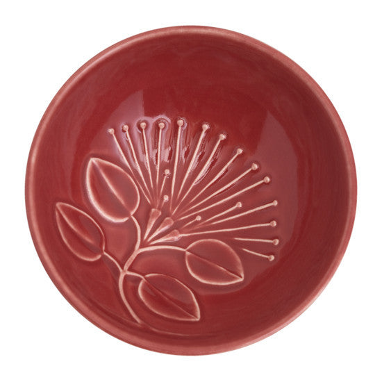 Bowl - Puhutukawa - Red - Small