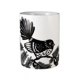Black & White Fantail Cup