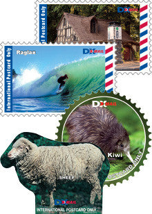International Postcard Stamps - DX Mail