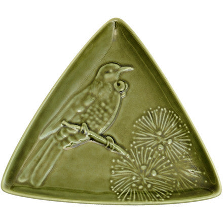 Triangle Plate - Tui - Moss Green