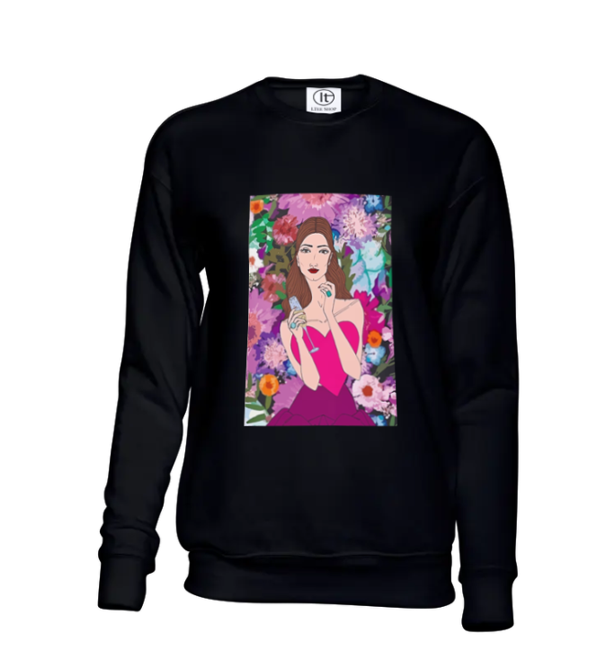 Champagne Girl Sweater