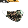 STEP AHEAD Face Mask Children's Reusable Camo