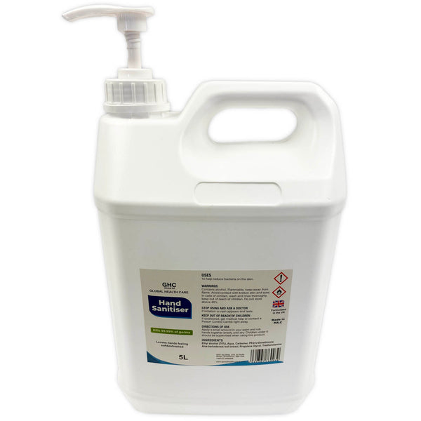 Hand Gel 5 Litre (5L) - StepAhead Workwear