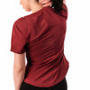 Step Ahead Burgundy Seamless Sports T-shirt