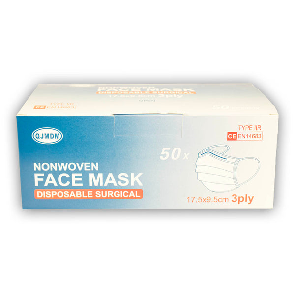 Type IIR Medical Face Masks (x50)