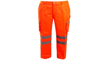 Hi Vis Combat Trousers (Kings Cross Station)