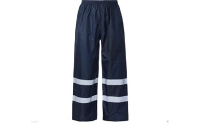Waterproof Over Trouser Navy (SCARBOROUGH) - StepAhead Workwear