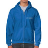 StepAhead Mens Full Zipped Hooded Sweatshirt - StepAhead Workwear