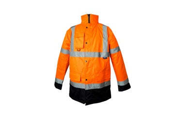 Class 3 Two Tone Road Traffic Jacket (CARDIFF/WALES) - StepAhead Workwear