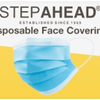 50 x Step Ahead Disposable Face Mask
