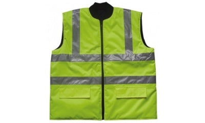 Hi Vis Class 2 Quilted Lined Reversible Vest (Liverpool)